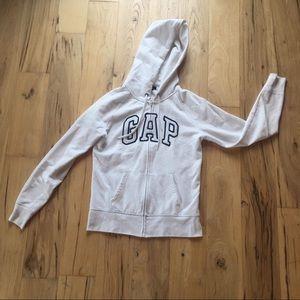 GAP hoodie in white